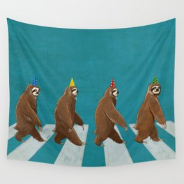 Sloth the Abbey Road Wall Tapestry