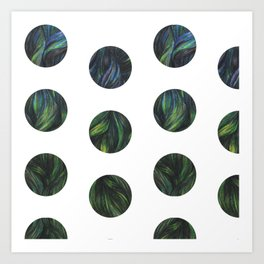 Circles - Siren Art Print