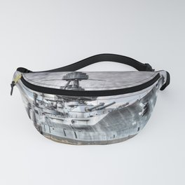 Battle Ship Texas Fanny Pack