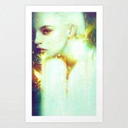 Flame Art Print