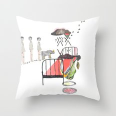 Sleepwalking Throw Pillow