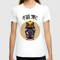 army T-shirts featuring Cat Army by BATKEI