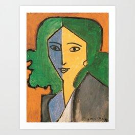 Portrait of Lydia Delectorskaya - Henri Matisse Art Print