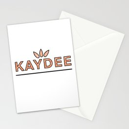 Vintage Kaydee Stationery Cards