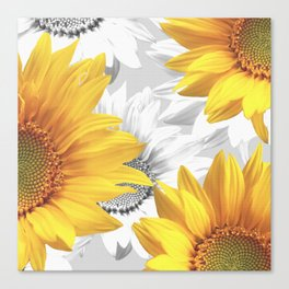 Sunflower Bouquet #decor #society6 #buyart Canvas Print