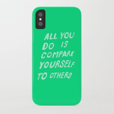 COMPARE Slim Case iPhone X