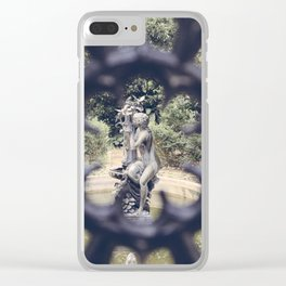 Savannah Garden Nymph Clear iPhone Case