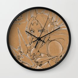 Leona - Try to leave a dent Wall Clock
