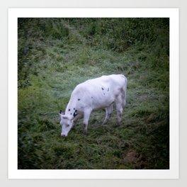 La Vache Art Print