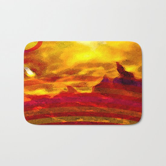 The Red Planet. Bath Mat