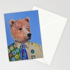 Grizzly Scout Stationery Cards