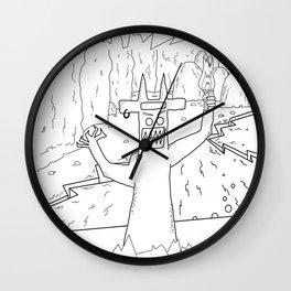 diable Wall Clock