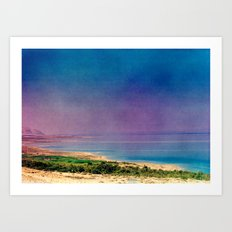 Dreamy Dead Sea I Art Print