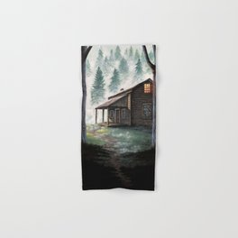 Cabin in the Pines Hand & Bath Towel