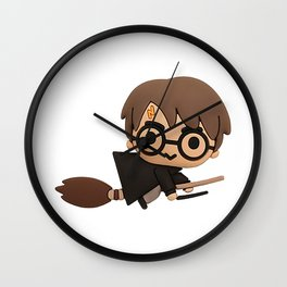 Little Wizard Wall Clock