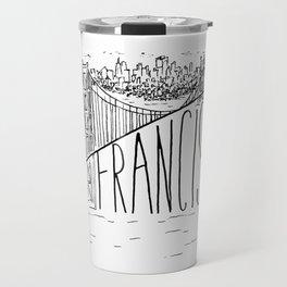San Francisco Golden Gate Swoop Travel Mug