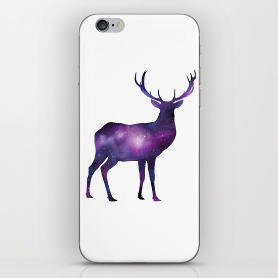 Space Deer iPhone & iPod Skin