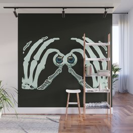 Googly Halloween Wall Mural