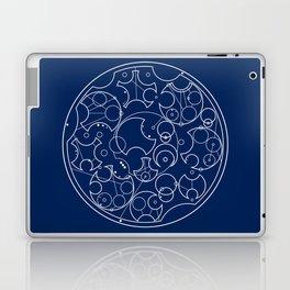 Gallifreyan Sherlock Laptop & iPad Skin