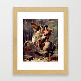 Napoleon Bonaparte A2 Framed Art Print