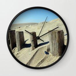Guard beach Wall Clock