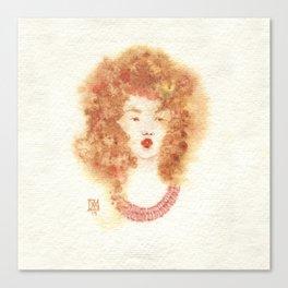 Fille Fondue Canvas Print