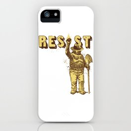 Smokey Says Resist iPhone Case