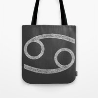 cancer Tote Bags featuring Cancer by David Zydd