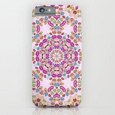 Love and Kisses Mandala iPhone 6s Slim Case