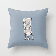 Bad Taste Toothpaste  Throw Pillow