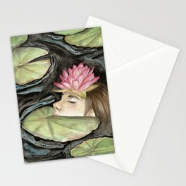 Heavy Crown watercolor Stationery Cards