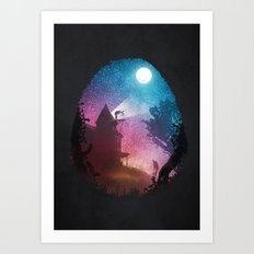 Young Astronomer Art Print