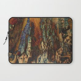 Woodsie Woo by Sherri Of Palm Springs-abstract Laptop Sleeve