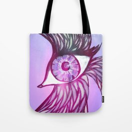 Eye Bird Tote Bag