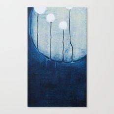 dandelions on the moon Canvas Print