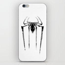 Amazing Spiderman B/W iPhone Skin
