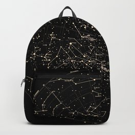 Constellations Map, Stars, Astronomy Cosmos Galaxy Backpack