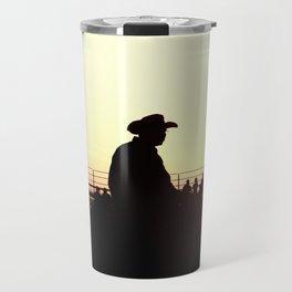 sundown rodeo Travel Mug