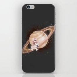 Lost in a Space / Saturnesse iPhone Skin