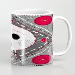All stitched up Coffee Mug