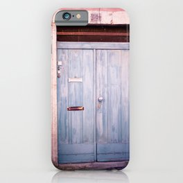 Pink Wall in Lisbon iPhone Case