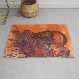 oceans,colourful,colorful,poster,wall art,fan art,music,hiphop,rap,rnb,soul,legend,shirt Rug