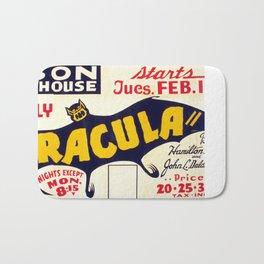 Dracula 1938 Bath Mat