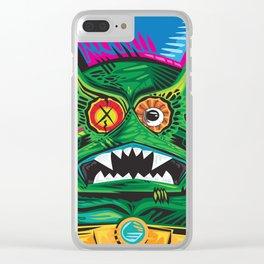 xMERMANx Clear iPhone Case
