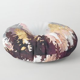Wine Forest Floor Pillow