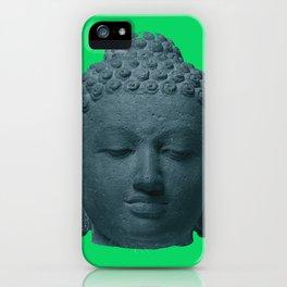 Head of Buddha Indonesia, Java, Sailendra Period, 9th Century early 800s 2 iPhone Case