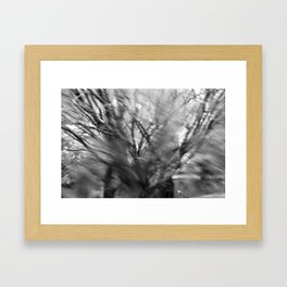 not just a blur on my windshield Framed Art Print