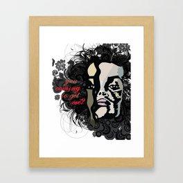 The Bellatrix Framed Art Print