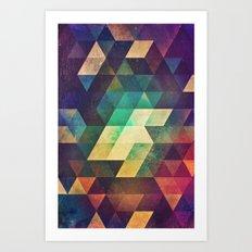 zymmk Art Print