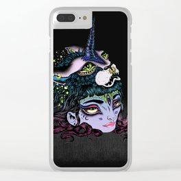 I Grew a Unicorn Clear iPhone Case